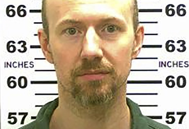 Escaped convict David Sweat is pictured in this undated handout photo released by the New York State Police. Sweat is in custody after being shot by police near the Canadian border, according to m ...