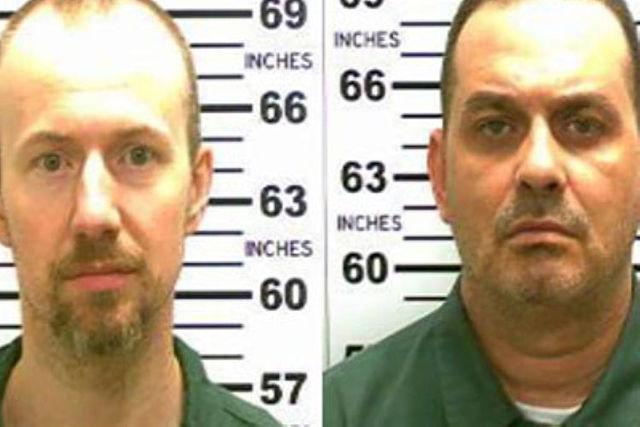 David Sweat, left, and Richard Matt. (AP/NDN)