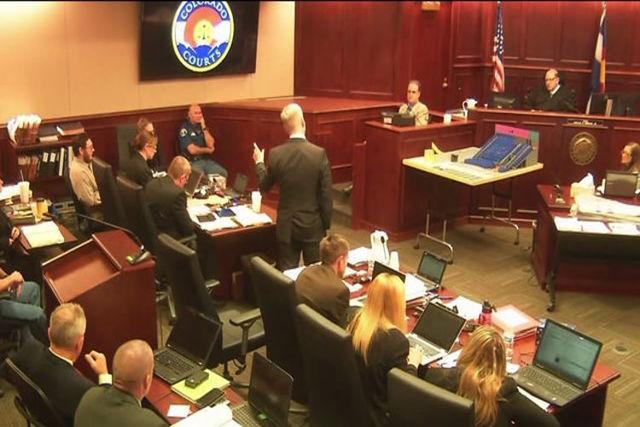 Colorado theater shooting case. (KDVR/NDN)