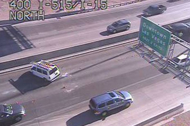 Accident near Spaghetti Bowl on US 95 cleared | Las Vegas Review-Journal