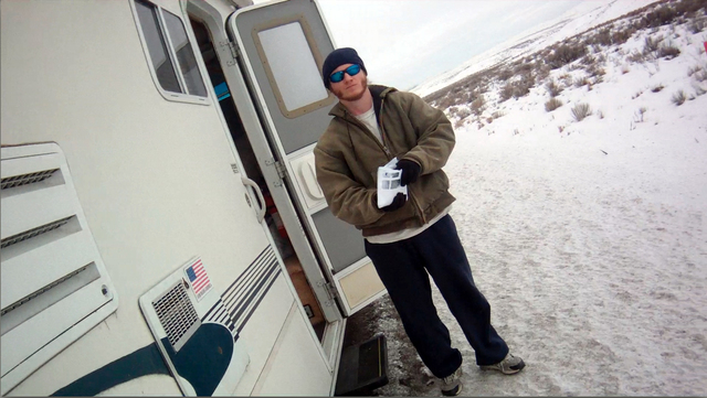 Straughn Gorman seen in this still image from an Elko County Sheriff's Department video shot during a traffic stop on Interstate 80 between Wells and Elko in January 2013. A federal judge has orde ...