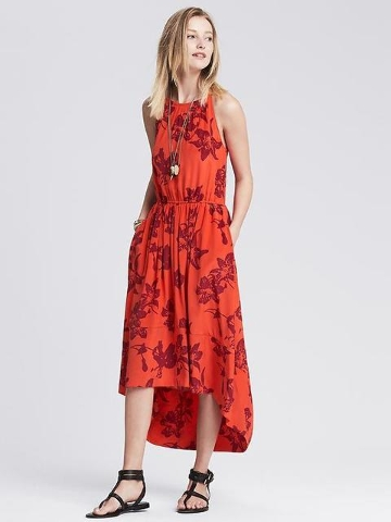 Banana Republic floral dress.