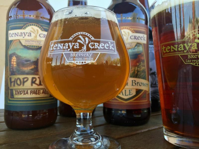 Tenaya Creek Hop Ride India Pale Ale (Courtesy of Tenaya Creek Brewery)