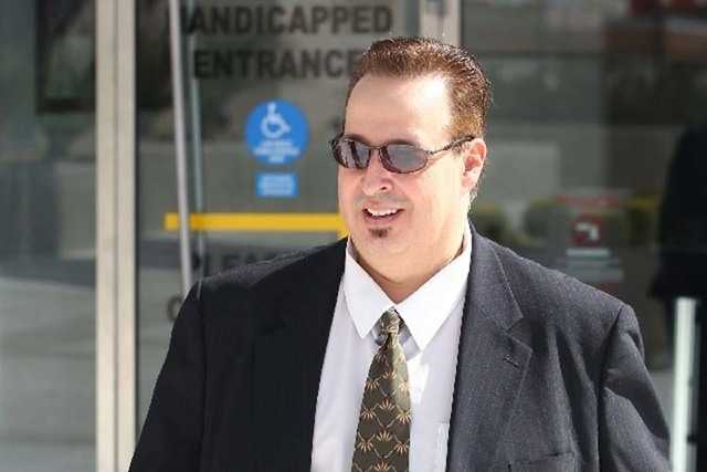 Leon Benzer, shown here, is accused of being behind HOA scheme. (Las Vegas Review-Journal file)