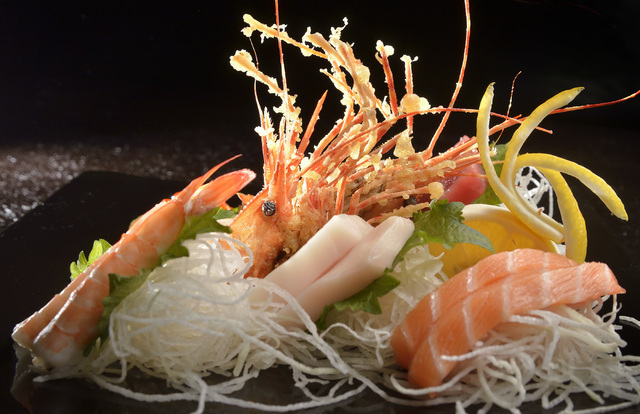 The Sashimi Chef S Special Combo Is Shown At Blue Fin Sushi 3980 E Sunset