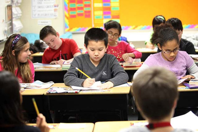 Nevada has been granted three additional years of flexibility from the accountability standards, and potential consequences, included in the No Child Left Behind Act. (Jessica Ebelhar/Las Vegas Re ...
