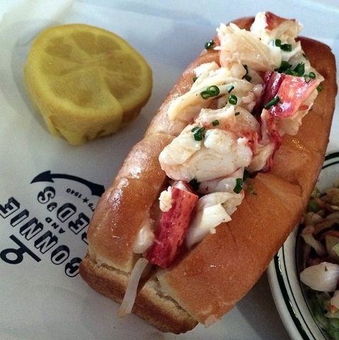 Lobster roll at Connie & Ted's (Courtesy, Chase Kroesche)