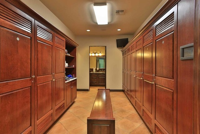 Courtesy photo  What use is a 14,192-square-foot recreation building for Dad with out its own locker rooms?