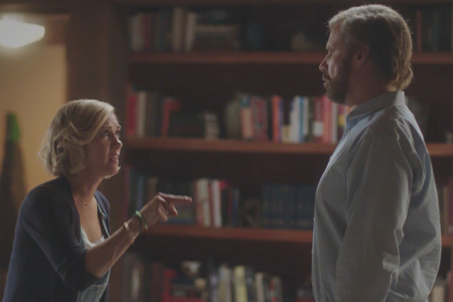 "Kristen Wiig and Will Ferrell star in ""A Deadly Adoption."" (Courtesy of Lifetime)"