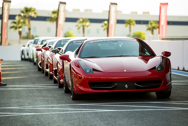 You ll be able to race exotic cars at the speedway soon for Exotic car las vegas motor speedway