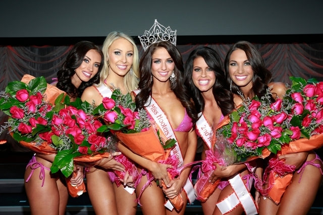 Miss Hooters International contest last week at the Hard Rock Hotel (Courtesy)