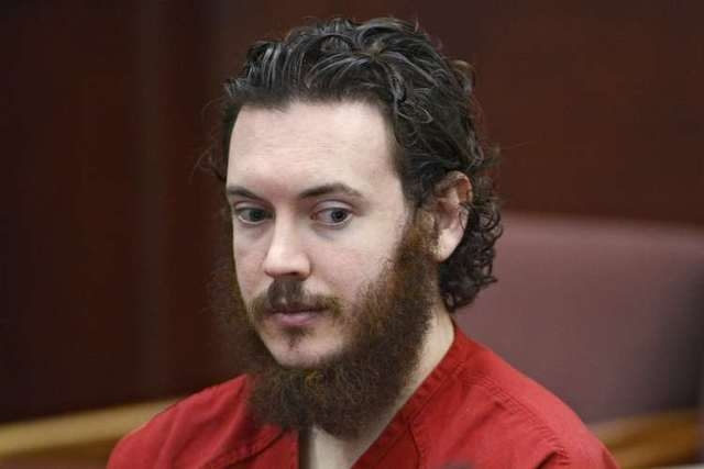 James Holmes sits in court for an advisement hearing at the Arapahoe County Justice Center in Centennial, Colorado in this June 4, 2013 file photo. (REUTERS/Andy Cross/Pool)