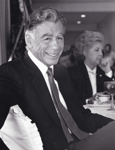 MGM Resorts' founder and largest shareholder Kirk Kerkorian is shown in this Oct. 3, 1989, photo. (Wayne C. Kodey/Las Vegas Review-Journal)