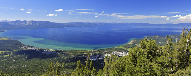 Panorama shot of Lake Tahoe (Rod Hanna/South Tahoe)