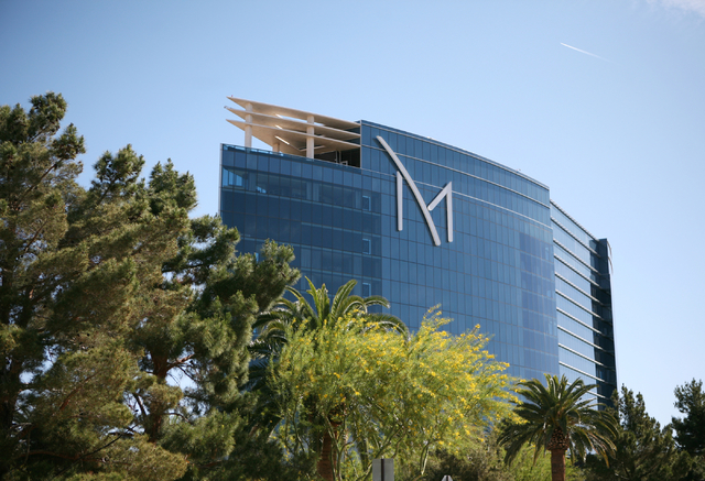 M Resort hotel-casino, located at 12300 Las Vegas Blvd. South, is shown Monday, April 13, 2015, in Las Vegas. (Ronda Churchill/Las Vegas Review-Journal)