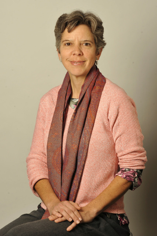 Laura Myers, politics reporter for the Las Vegas Review-Journal, on Friday, Jan. 25, 2013. (Mark Damon/Review-Journal)