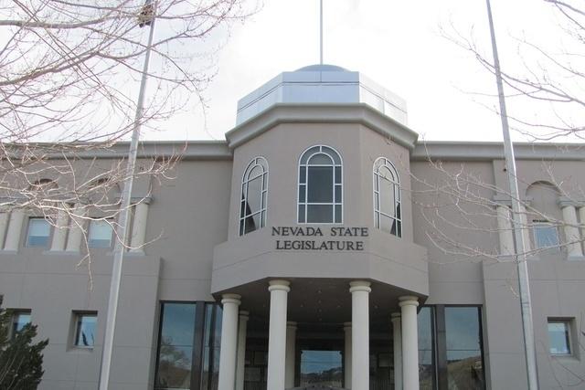 The Nevada Legislature building is shown on Monday, Feb. 2, 2015. (Greg Haas/Las Vegas Review-Journal)