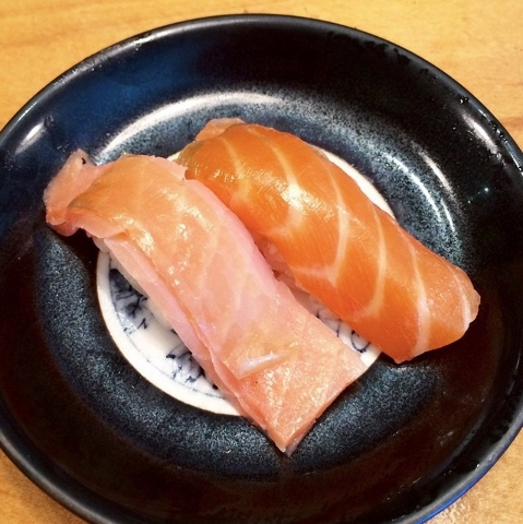 Salmon at Sushi Nishi-Ya (Courtesy, Chase Kroesche)