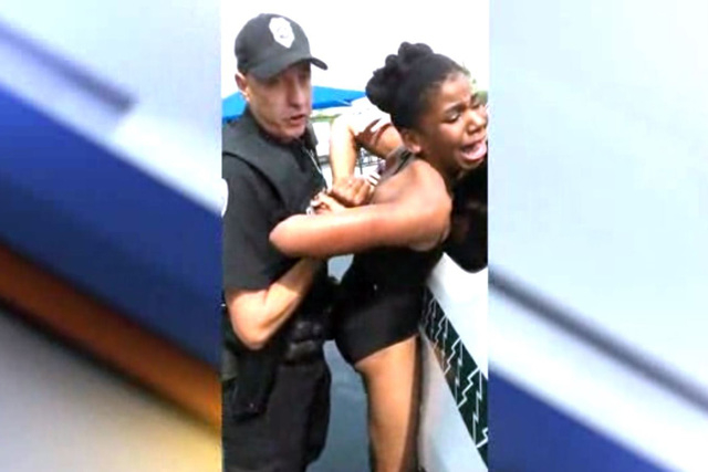 A video released on Tuesday showed police using pepper spray when arresting a group of black women and children at an Ohio pool, in an incident that has further fanned concerns about officers' u ...