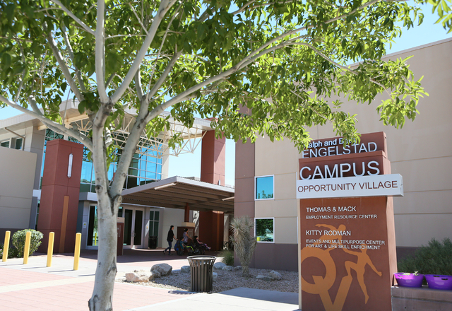 Opportunity Village Ralph and Betty Engelstad Campus is shown Wednesday, June 17, 2015, in Las Vegas. Sean's Park, a proposed life-learning park for children and adults with disabilities and their ...