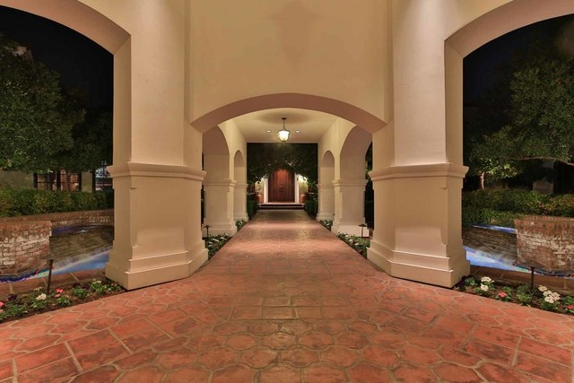 The home's entryway. (Courtesy photo)