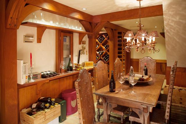 Courtesy photo The Primm estate on Tomiyasu Lane also features a wine cellar.