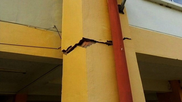 A magnitude-6.0 quake struck near Ranau, Malaysia early Friday, June 5, 2015. Mountain guides slowly helped 137 climbers safely descend Mount Kinabalu. The quake damaged roads and buildings across ...