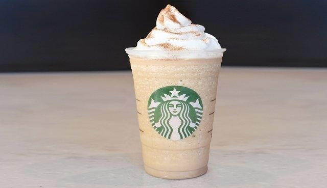 Cinnamon Roll: cinnamon dolce syrup + coffee + white chocolate mocha sauce + vanilla bean + whipped cream + cinnamon dolce sprinkles (Courtesy CNN)