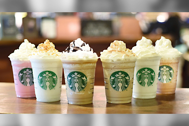 Voting for the fan favorite of the new flavors will take place at Frappucino.com from June 19-30. (Courtesy CNN)