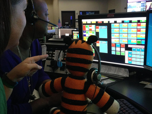 Owen, a 6-year-old boy, recently left behind his beloved stuffed toy, Hobbes, at Tampa International Airport. Airport Operations Manager Tony D'Auito decided to take Hobbes on an Airport adventure ...