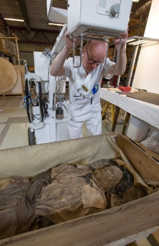 Hidden Fetus Found Buried With Mummified Bishop Video