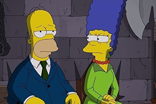 After 26 seasons of blissful TV marriage, Marge and Homer Simpson will be splitting up.