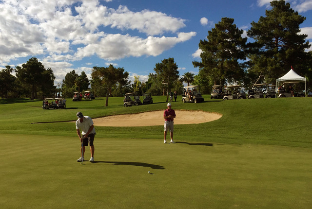 Golfers play last month at the Spanish Trail Country Club, 5050 Spanish Trail Lane. (Special to View)