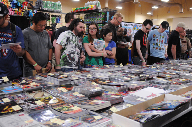 The Amazing! Las Vegas Comic Convention is planned from 3 to 8 p.m. June 19, 10 a.m. to 7 p.m. June 20 and 10 a.m. to 6 p.m. June 21 at the South Point, 9777 Las Vegas Blvd. South. Tickets start a ...