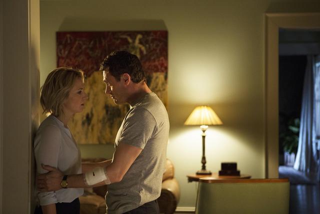 "Cimarron-Memorial High School graduate Beth Riesgraf's new USA drama ""Complications,"" co-starring Jason O'Mara, debuts Thursday night (Daniel McFadden/USA)"