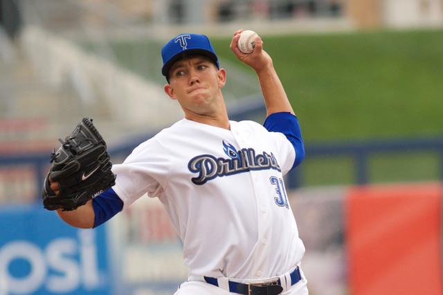 Tulsa Drillers pitcher Tyler Anderson (Courtesy Rich Crimi/Tulsa Drillers)