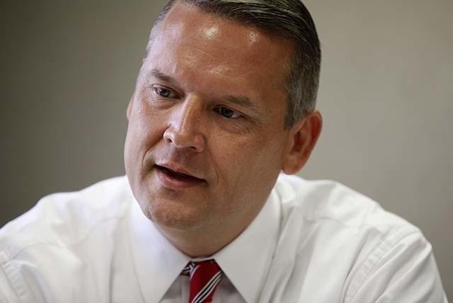 SNWA General Manager John Entsminger. (John Locher/Las Vegas Review-Journal File)