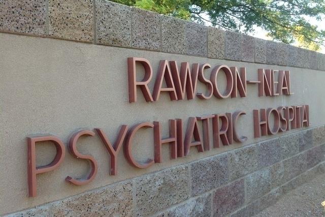 Rawson-Neal Psychiatric Hospital in Las Vegas. (File, Las Vegas Review-Journal)