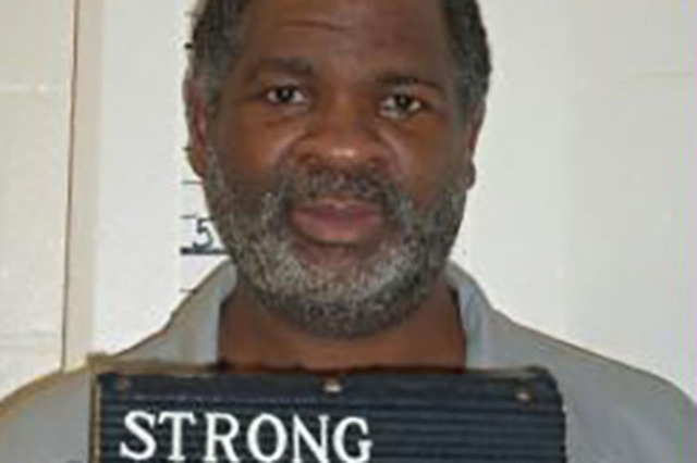 Death row inmate Richard Strong, 48, is seen in a picture provided by the Missouri Department of Corrections taken February 9, 2014.  REUTERS/Missouri Department of Corrections/Handout