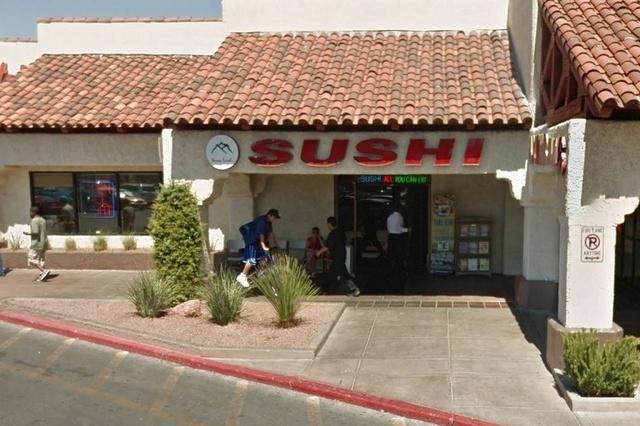 Yama Sushi Restaurant, 1350 E. Flamingo Road (Screengrab, Google Maps)