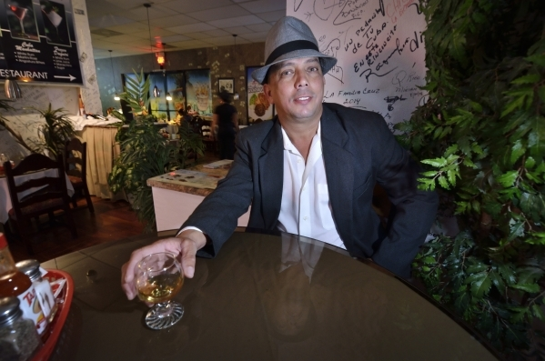 Cafe El Mundo Cubano owner Roberto Cruz-Gonzalez, 47, wishes Cubans had more freedoms but sees potential for economic growth for the nation. Bill Hughes/Las Vegas Review-Journal