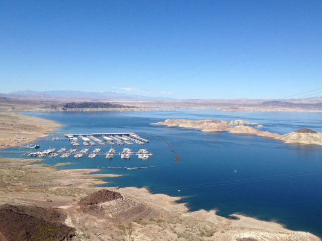 The decreasing water level at Lake Mead is forcing the National Park Service to spend 1.5 million to repair launch ramps. (Boulder City Review file photo)