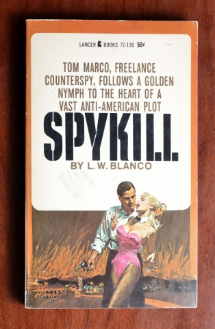 "Those wondering what ""a golden nymph"" knows about ""a vast anti-American plot"" will agree this book belongs in the pulp-fiction collection of Las Vegas-themed paperbacks at the  ..."