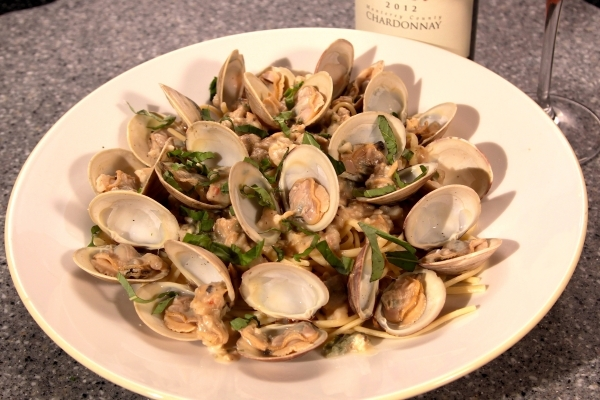 Linguine and clams at Don Vito's at South Point. (Courtesy)
