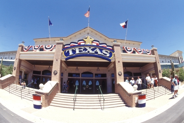 The exterior of Texas Station is shown during its grand opening July 12, 1995. (Special to View)