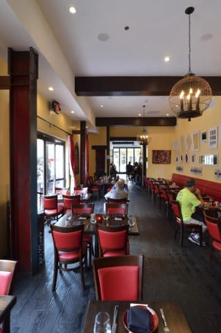 At Tapas by Alex Stratta, the classically trained chef has taken a very classical approach in an obvious tribute to the origin of tapas as the little dishes of Spain. (Bill Hughes/Las Vegas Review ...
