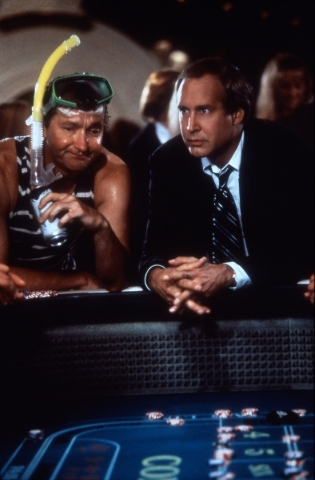 """1997's """"Vegas Vacation"""" featured a bit too much Cousin Eddie (Randy Quaid, left), shown with Chevy Chase as Clark Griswold. (Courtesy photo)"""
