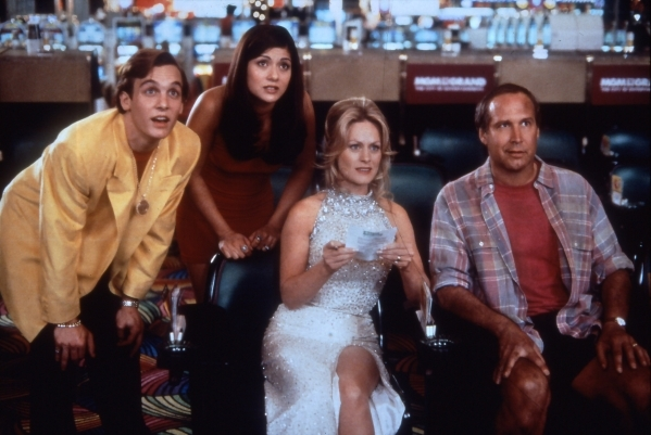 "The most unappealing movie in the ""Vacation"" franchise was 1997's ""Vegas Vacation."" Starring as the Griswolds, from left, are Ethan Embry (Rusty), Marisol Nichols (Audrey ..."