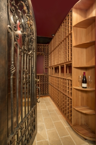 The Summerlin home also showcases a wine room. COURTESY PHOTO