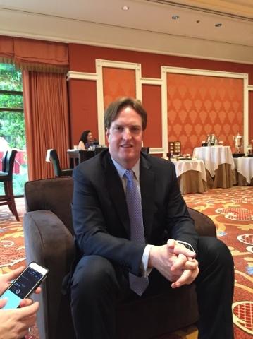 Fantasy Sports Combine founder Bo Brownstein. Ed Graney/Las Vegas Review-Journal